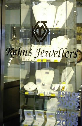 Kahns Jewellers Store Front