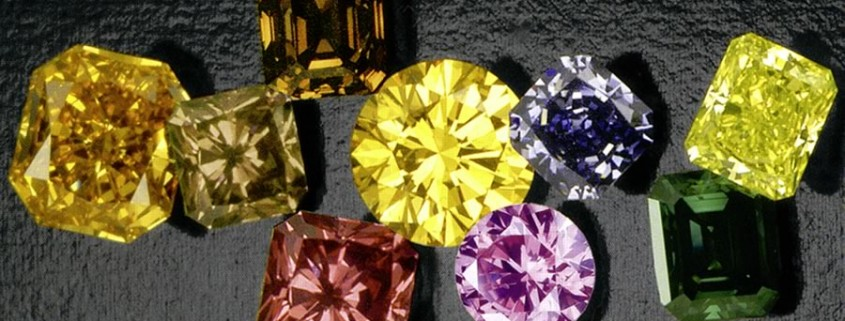 Coloured Diamonds