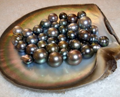Coloured Pearls